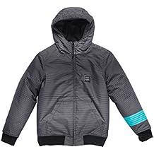 RIP CURL Kasto Jacket Chaqueta niño Talla 14 Color Black 3327d1cde44e4