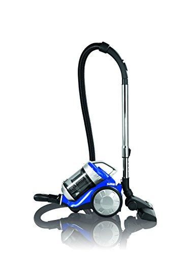Cleanmaxx 09897–Aspirador ciclónico, 700W, sin bolsa, presupuesto Lavado | Power 3000| suelo Lavado, eficiencia energética A + +, Azul/Plata