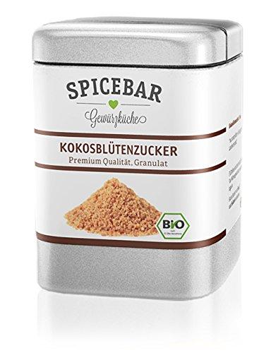 Spicebar Kokosblütenzucker, Feinste Premium Qualität, Granulat, Bio (1x80g)