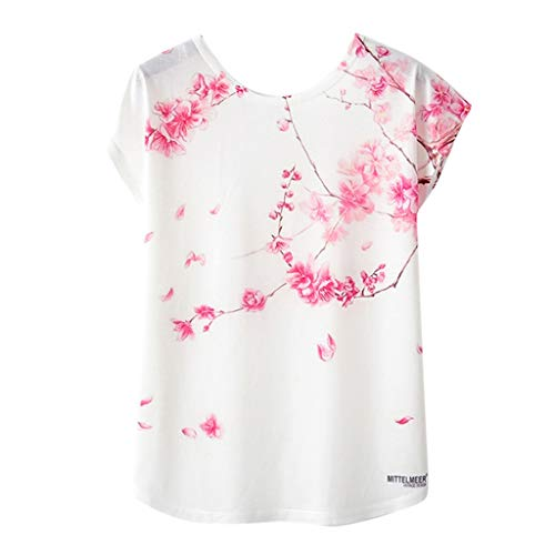 Bluse Damen Mädchen Geometrischer Animal Print O Neck Kurzarm Loses T Shirt Bluse - Animal Print Tankini