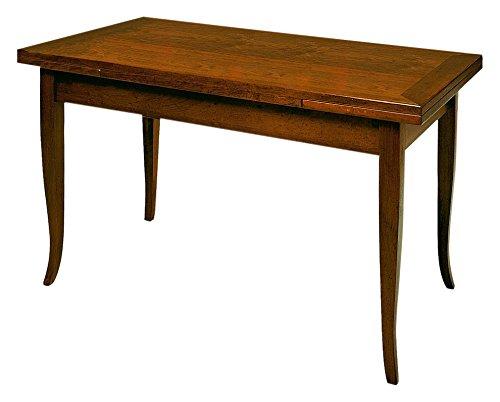 Castagnetti-1928-Verona-Tavolo-Allungabile-Legno-Tinto-Noce-100X70X80-cm