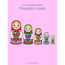 Livre de coloriage pour adultes Poupées russes 1