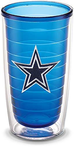 allas Cowboys Emblem Individual Tumbler, 16 oz, Sapphire ()