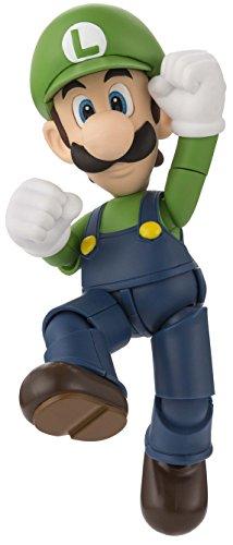 Mario Spielzeug-action-figuren (Bandai Tamashii Nationen S.H. Figuarts Luigi