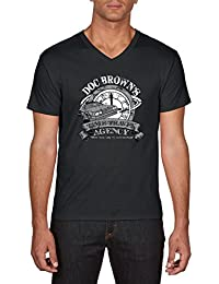 Touchlines Herren T-Shirts Doc Browns Travel Back To the Future
