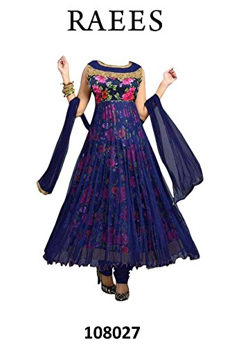 DressHari-Krishna-Raees-Neavy-Blue-Womens-Dress