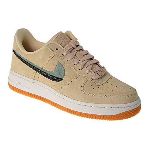 Nike Damen WMNS Air Force 1 '07 Lx Sneakers Mehrfarbig (Guava Ice/Enamel Green/Gum Yellow 001) 39 EU