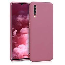 kwmobile Samsung Galaxy A70 Hülle - Handyhülle für Samsung Galaxy A70 - Handy Case in Deep Rusty Rose