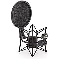 Mikrofon-Spinne mit Poppfilter von Gear4music