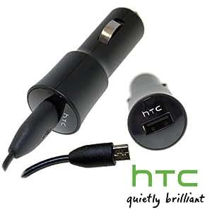 Original HTC Autoladegerät KFZ Ladekabel CC-C200 passend für HTC One S, One X, One V