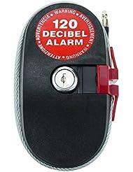 Cablematic - Alarme électronique avec câble en acier de 4,6m et haut-parleur 120dB