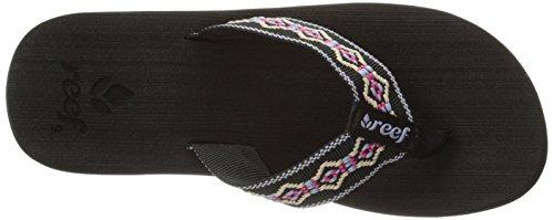 Reef R1541Kpb, Sandales femme Noir (Black/Blue/Pink)