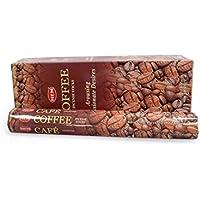 HEM Hexagonal Coffee 6x20 Räucherstäbchen Großpackung preisvergleich bei billige-tabletten.eu