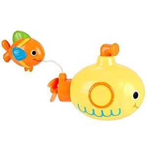 babies r us wind up bath toy submarine fish by babies r us baby. Black Bedroom Furniture Sets. Home Design Ideas