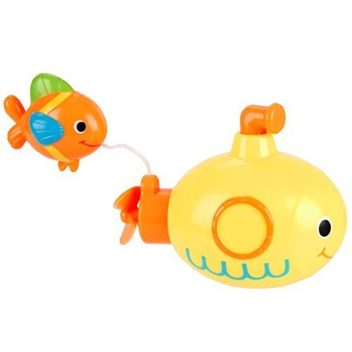 Babies R Us Wind Up Bath Toy - Submarine Fish by Babies R Us