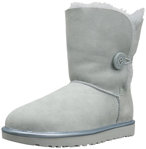 Womens Lo Pro Button (UGG BAILEY BUTTON II METALLIC Stiefel 2018 iceberg, 40)