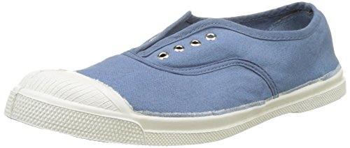 Bensimon Tennis Elly Femme, Damen Hohe Sneakers Blau (Denim)