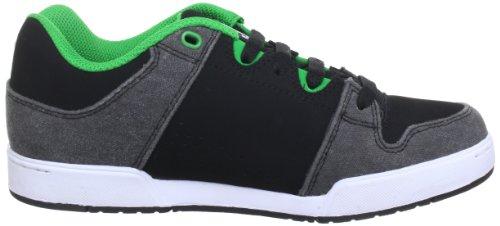 DC Shoes TURBO 2 YOUTH SHOE D0302862A/B Jungen Sneaker Schwarz (Black / Green)