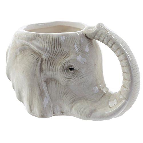 Taza con forma de elefante
