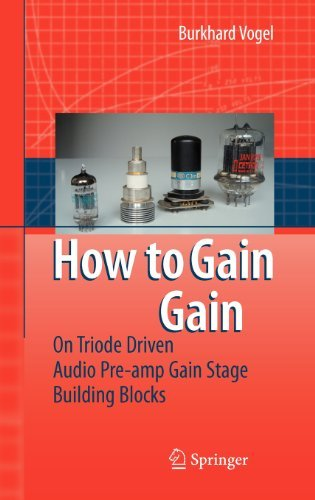 How to gain gain: A Reference Book on Triodes in Audio Pre-Amps
