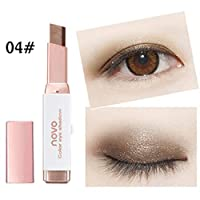walmeck NOVO Two-Color Gradient Eye Shadow Stick Shimmer Eye Shadow Pencil For Eyes Makeup Waterproof Eyeshadow Pen Cosmetics