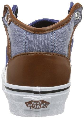Vans U 106 MID VUCQAT6 Unisex-Erwachsene Sneaker Blau ((Canvas   Chamb)