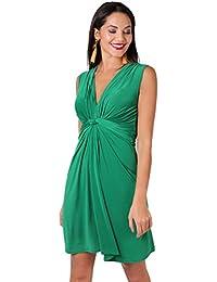 KRISP Vestido Corto Mujer Vuelo Casual Talla Grande Joven Elegante 9dab6ffe38f
