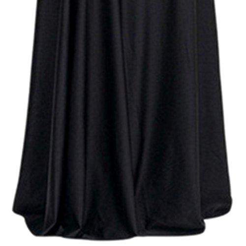iShine Vintage Robe de Soirée élégant Taille haute Robe de Cocktail d'or