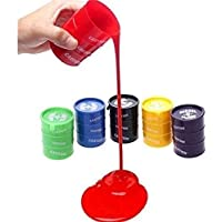 BVM GROUP 5 Pcs Slime Non-Sticky Slime Putty Multi Color for Kids Boys and Girls Party Set/Mud Stress Relief Toy…