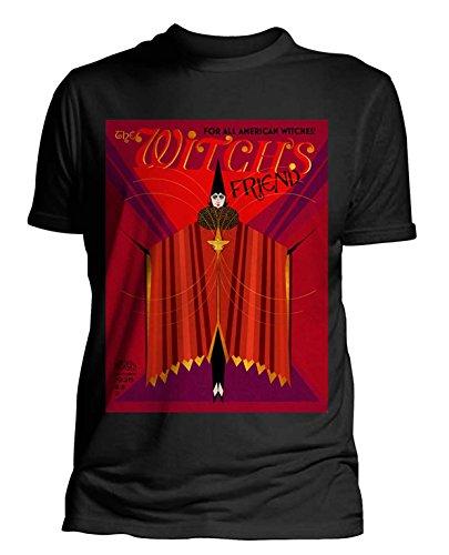 Plastichead Herren T-Shirts Fantastic Beasts Witch's Friend Schwarz