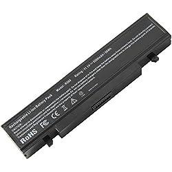 ARyee 5200mAh 11.1V 6-Cell Batterie d'ordinateur Portable pour Samsung E152 E252 E252 E372 NP200 NP300 NP305 NP3415 NP3430 NP-315 NP-E152 NP-E252 NP-E252 NP-E257 NP-E271 NP-E271 NP-E272 NP-E3515