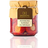 Handmade Sicilian Peppers Filled with Tuna and Onion - 200g Jar