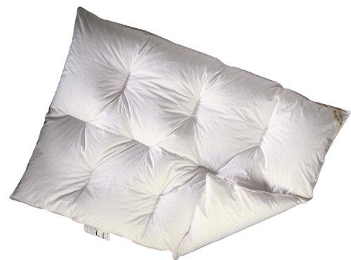 ARO Artländer 9043920 Bettdecke Juwel Kinder-Karo polnische weiße Gänsedaunen 90%, 100 x 135 cm, waschbar 60° -