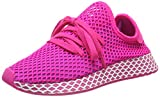 adidas Damen Deerupt Runner W, Laufschuhe, Pink (Shock Pink/Vivid Pink/Ftwr White Shock Pink/Vivid Pink/Ftwr White), 42 EU (8 UK)