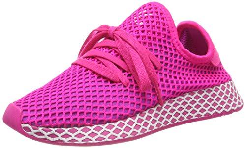 adidas Damen Deerupt Runner W, Laufschuhe, Pink (Shock Pink/Vivid Pink/Ftwr White Shock Pink/Vivid Pink/Ftwr White), 39 1/3 EU (6 UK)