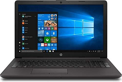 HP 250 G7 (15,6 Zoll FullHD matt) Notebook (Intel Core i3-7020U 2.3 GHz DualCore, 8GB RAM, 256 GB M.2 SSD, Intel HD Graphics 620, WLAN, Bluetooth, HDMI, USB 3.0, DVD-Brenner, Windows 10 Pro) schwarz