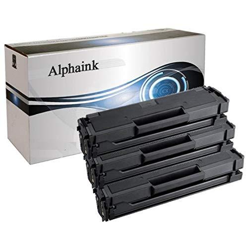 Alphaink ai-kit3-mlt-d111l 1800 copie xl 3 toner compatibili per samsung m2022 w m2026 w m2020 w m2070 w m2070w m2026w m2022w m2020w mlt-d111s d111l xl 1800 copie al 5% di copertura