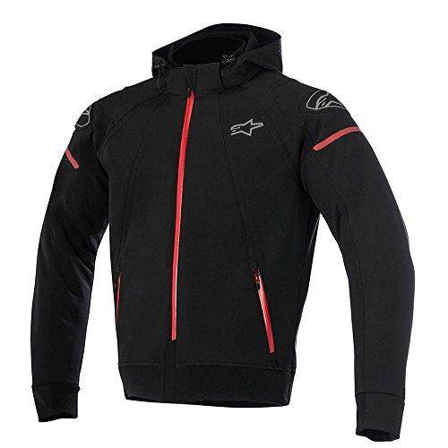 Alpinestars Motorradjacke Sektor Tech Hoodie schwarz/rot, L