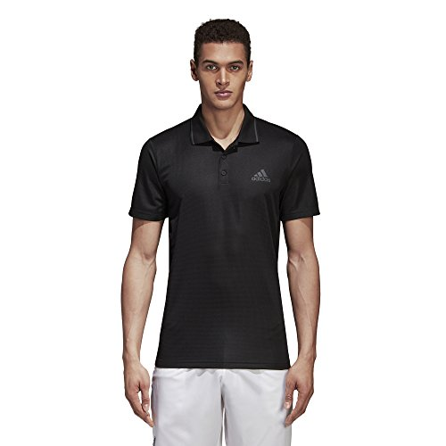 Adidas Club Textured Polo Homme, Noir, FR (Taille...