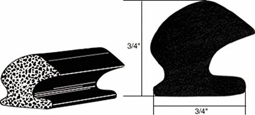 C.R. Laurence av4703CRL-GM Cars hinten Deck Deckel Dichtungsprofil