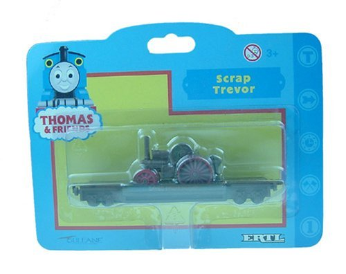Scrap Trevor Engine & Flat Bed From Thomas the Tank Engine by ERTL - Ertl Thomas Engine Tank The