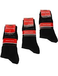 Pierre Cardin hommes Lot de 6paires de chaussettes pour femme/taille: 9,5–13UE: 39–46Chaussettes en coton
