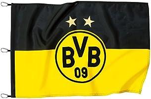 Borussia Dortmund,Hisser le drapeau, noir-jaune, 150x100