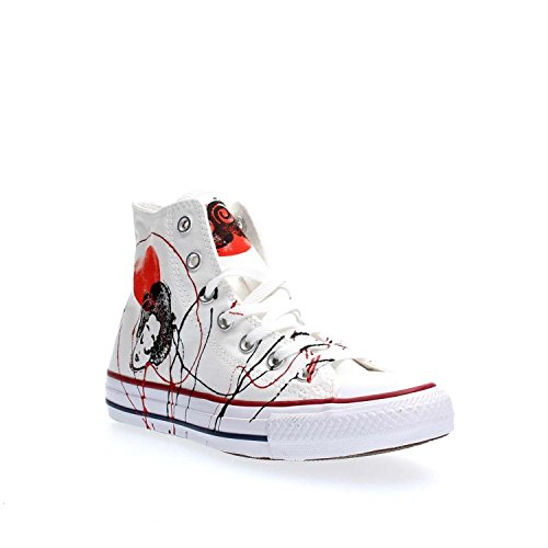 CONVERSE Unisex Turnschuhe hoch 156920C ALL STAR HALLO CANVAS LTD JAPAN WEISS Bianco Japan
