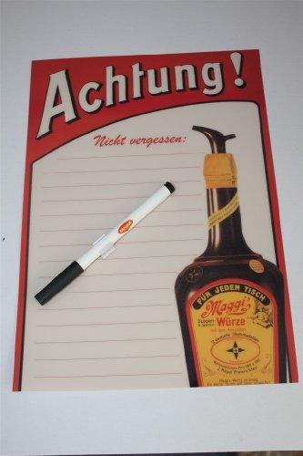 maggi-whiteboard-blackboard-klebetafel-includes-whiteboard-marker