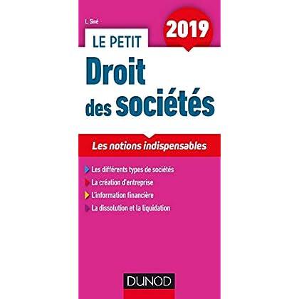 Le petit Droit des sociétés 2019 - Les notions indispensables