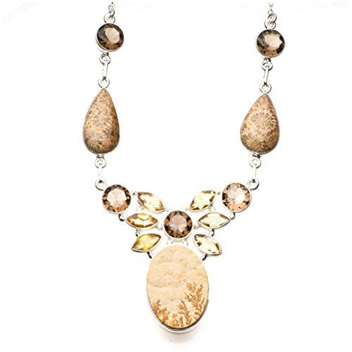 stargems-tm-naturel-allemand-dendritic-opale-quartz-fume-et-citrine-argent-sterling-925-en-y-collier
