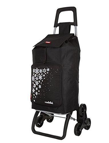 caddie poussette de marché 3 roues SALSA Isotherme' Fresh-up'Couleur noire