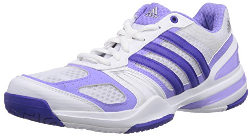 Adidas Performance - Rally Court, Tennis De Donna Multicolore (ftwr Blanc / Flash De Nuit S15 / Flash Clair Violet S15)