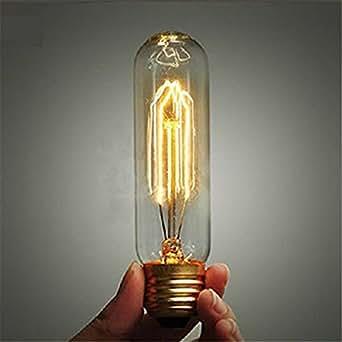 KINGSO T10 40W E27 220V Retro Edison Ampoule à Incandescence Ampoule Antique Style